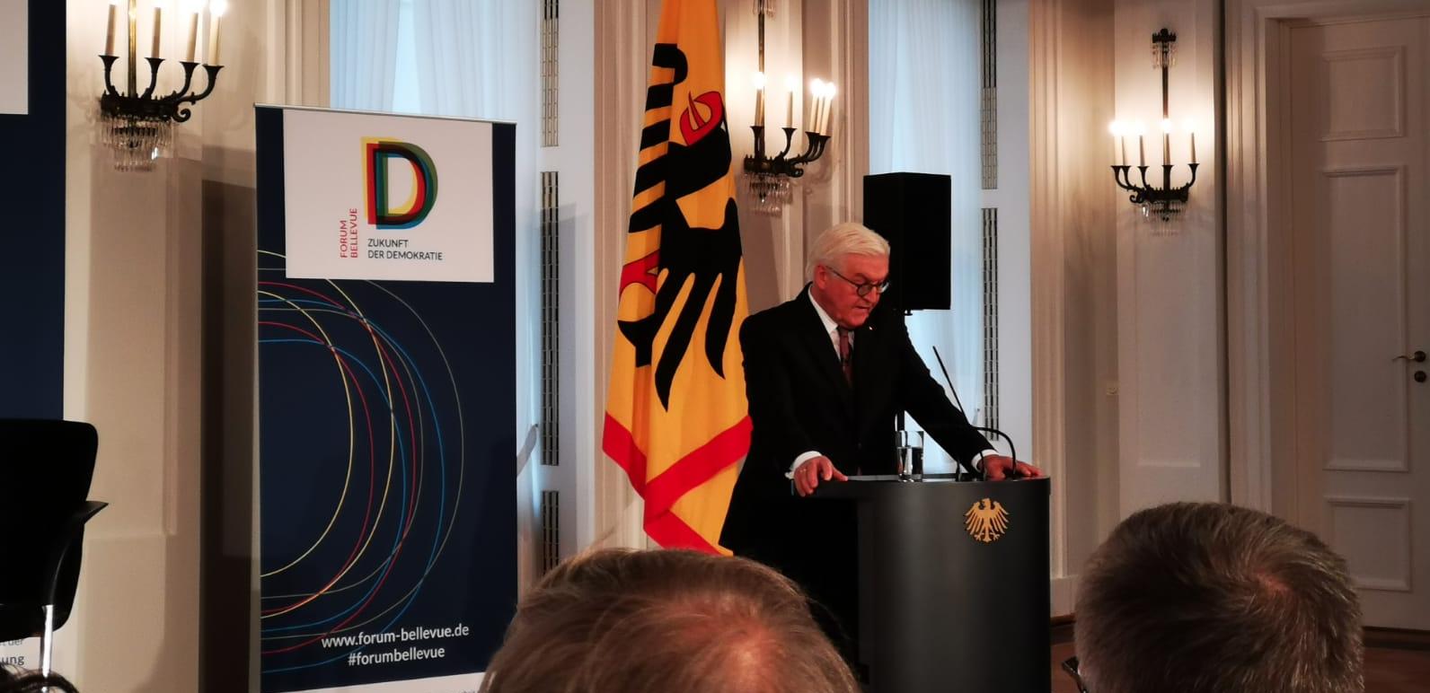 Inflotec zu Besuch bei Bundespräsident Frank-Walter Steinmeier